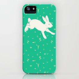Running Bunny iPhone Case