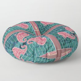 Ethnic Holiday Colors Floor Pillow
