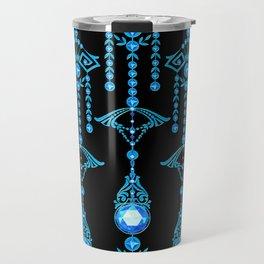 CASTELLINA JEWELS: COOL ELECTRIC BLUE Travel Mug