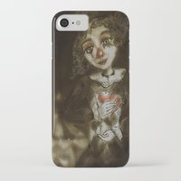 clown iPhone & iPod Cases featuring clown  by AliluLera