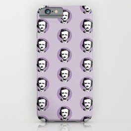 Edgar Allan Poe-ka Dots iPhone Case