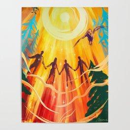 Raise Your Vibration Poster