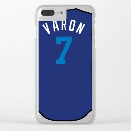 Rosell Herrera Players' Weekend Jersey Clear iPhone Case