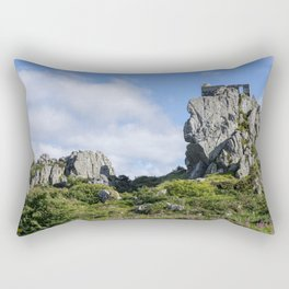 Roche Rock chapel 1 Rectangular Pillow