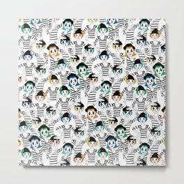 Millions of Mimes Metal Print