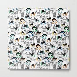 Millions of Mimes Metal Print