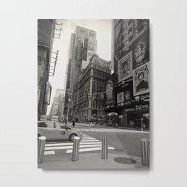 Taxi! - NYC series -  Metal Print