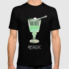 Absinthe LARGE Black Mens Fitted Tee