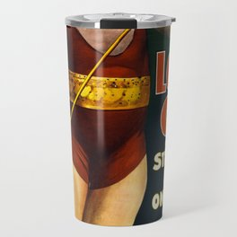 Louis Cyr, Strongest Man on Earth Travel Mug