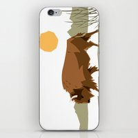 bison iPhone & iPod Skins featuring Bison by Emre Özbay