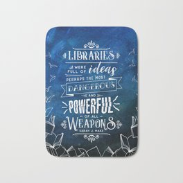 Libraries Bath Mat