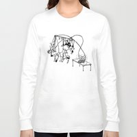 tape Long Sleeve T-shirts featuring Tape by Dan Ashwood