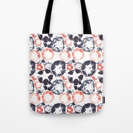 Hawaiian Print [white] Tote Bag