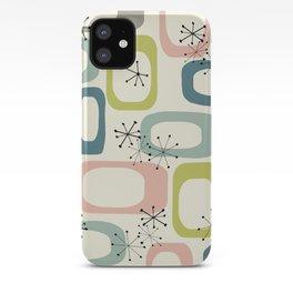 Mid Century Modern Shapes #society6 #buyart iPhone Case