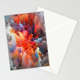 Pattern color aaa Stationery Cards