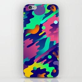 Splash Pattern iPhone Skin