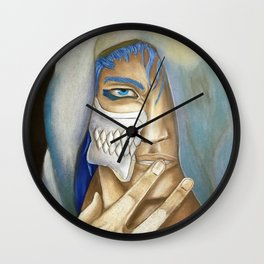 Hooded Hollow Wall Clock