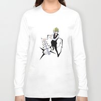 durarara Long Sleeve T-shirts featuring Heiwajima Shizuo 2 by Prince Of Darkness