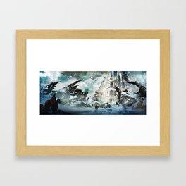 The Blizzard Framed Art Print