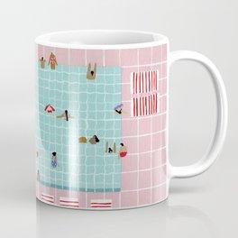 Pink Tiles Coffee Mug