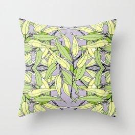 Blue Gum Forest Floor Throw Pillow