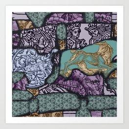 Medieval Fantasy Art Print