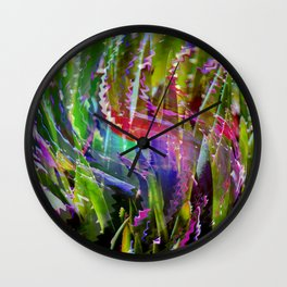 Life in Color and Light Wall Clock