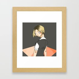Kenma Framed Art Print
