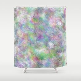 Abstract 492045 Shower Curtain