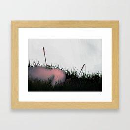 Between Rivers, Rilken No.2 Framed Art Print