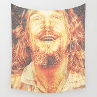 the dude Wall Tapestries featuring The Dude by Robotic Ewe