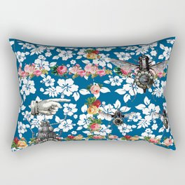 Rotary Bug on The Canal Rectangular Pillow