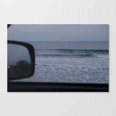 Waves at Dusk Canvas Print