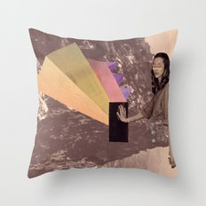 high into the sky Throw Pillow