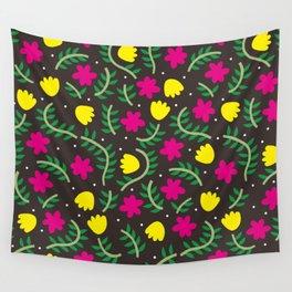 flower garden Wall Tapestry