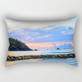 An Evening Glow Rectangular Pillow