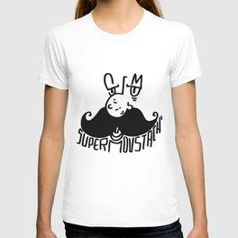 super moustach' T-shirt