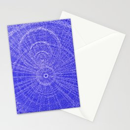 Circle Art  Stationery Cards