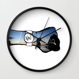 Be Here. Wall Clock