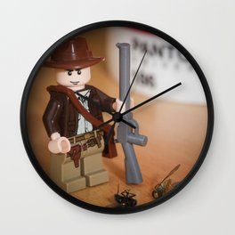 Indy Flies Hunter Wall Clock
