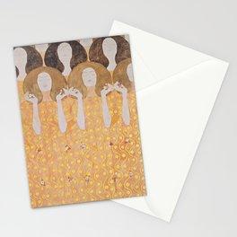 Gustav Klimt - Choir of Angels (Chor Der Paradiesengel) Stationery Cards