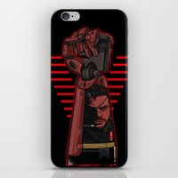metal gear iPhone & iPod Skins featuring Metal Power Gear by Akyanyme