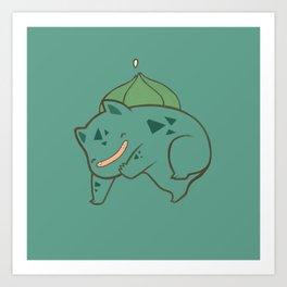 Pokemon: Bulbasaur! Art Print
