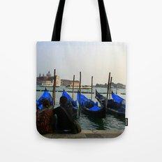 Gondola Parking Tote Bag