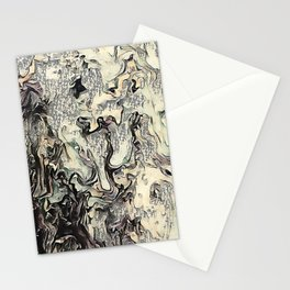 Texture Overlay Abstract Design Stationery Cards