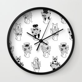 Morning Constitutional Wall Clock