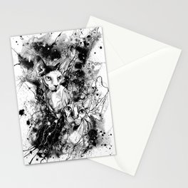 Buddha and Kosmos Stationery Cards