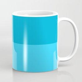 Blue Horizontal Stripes Design Coffee Mug