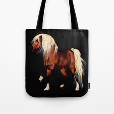 HORSE - Black Forest Tote Bag