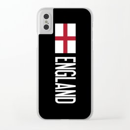 England: English Flag Clear iPhone Case